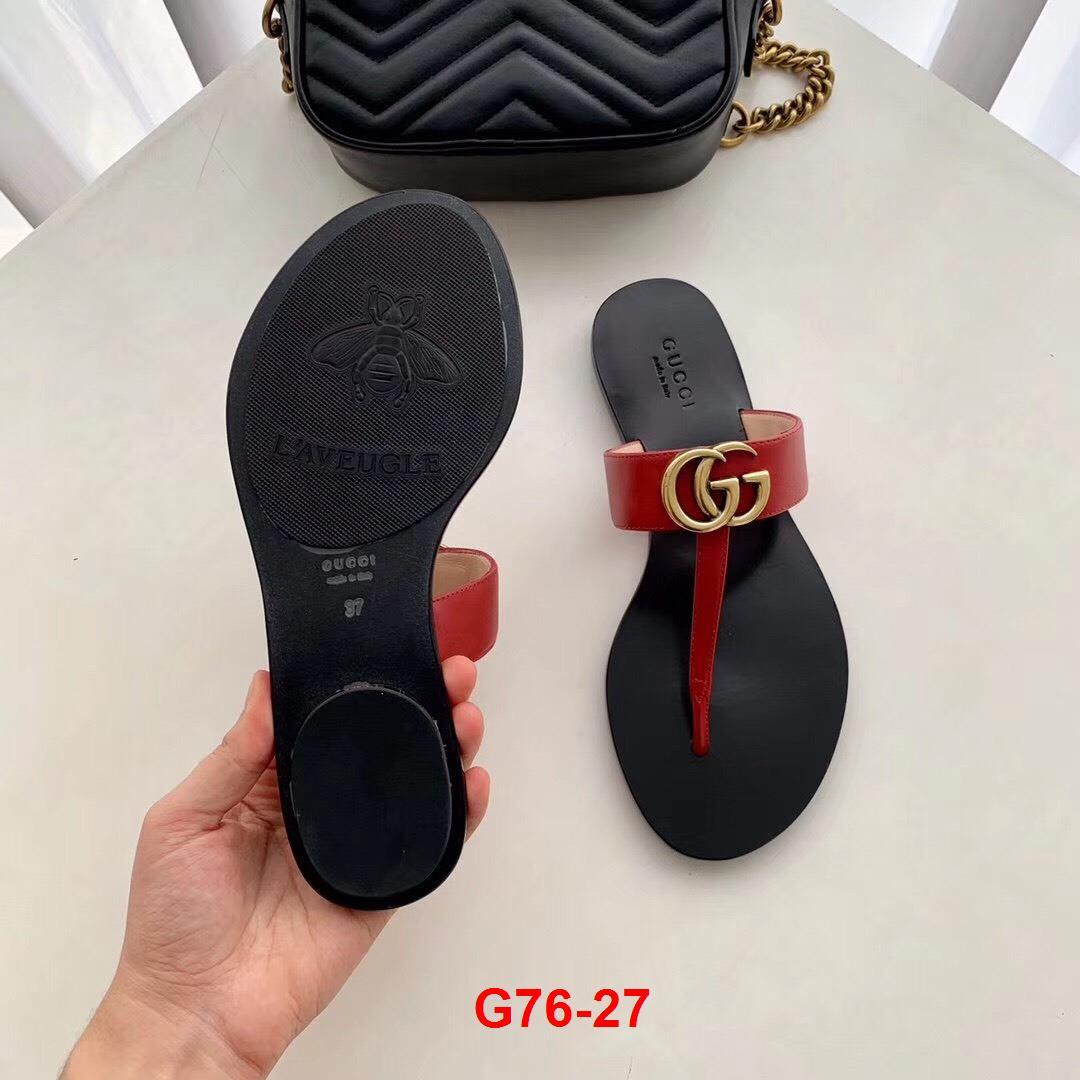G76-27 Gucci dép bệt siêu cấp