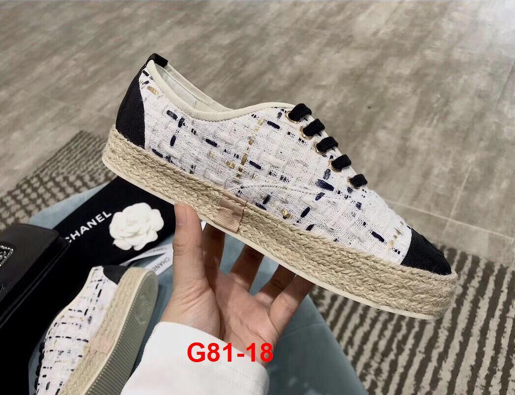 G81-18 Chanel giày thể thao siêu cấp
