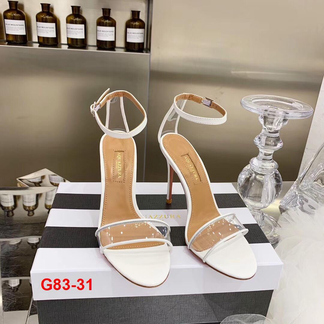 G83-31 Aquazzura sandal cao 10cm siêu cấp