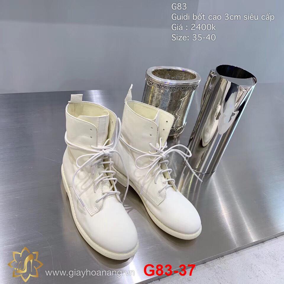 G83-37 Guidi bốt cao 3cm siêu cấp
