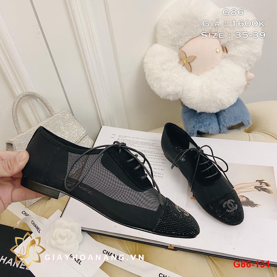 G86-131 Chanel giày lười siêu cấp
