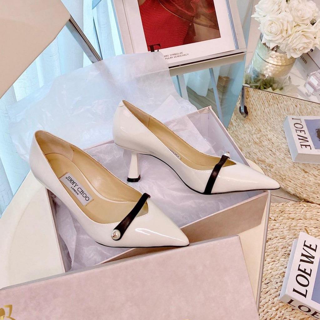 G86-168 Jimmy Choo giày cao 8cm siêu cấp