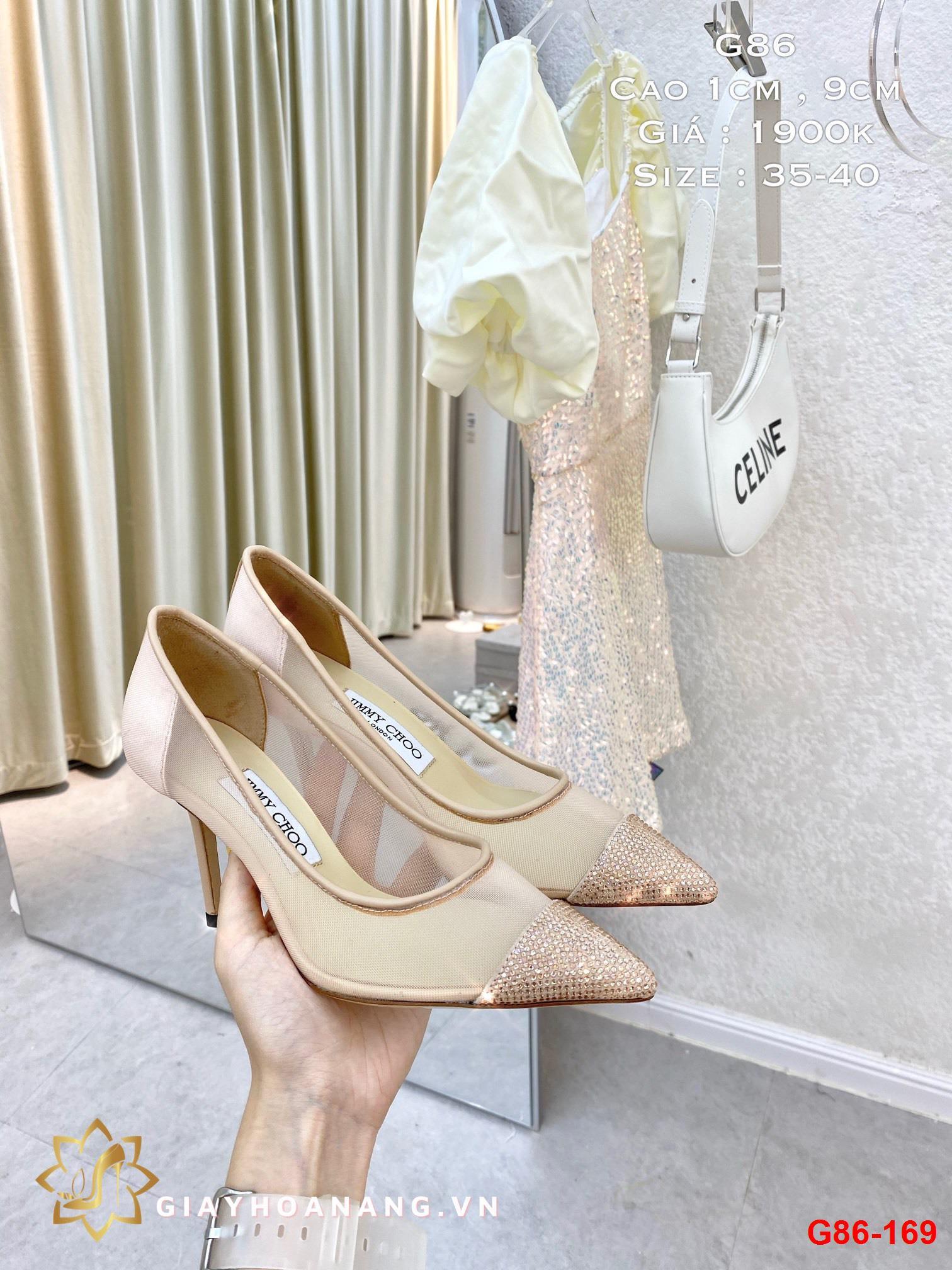 G86-169 Jimmy Choo giày cao 1cm , 9cm siêu cấp