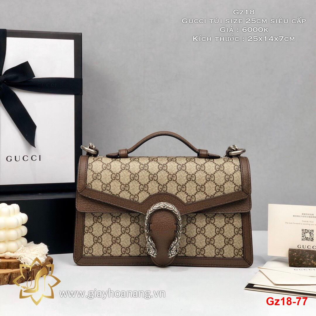 Gz18-77 Gucci túi size 25cm siêu cấp