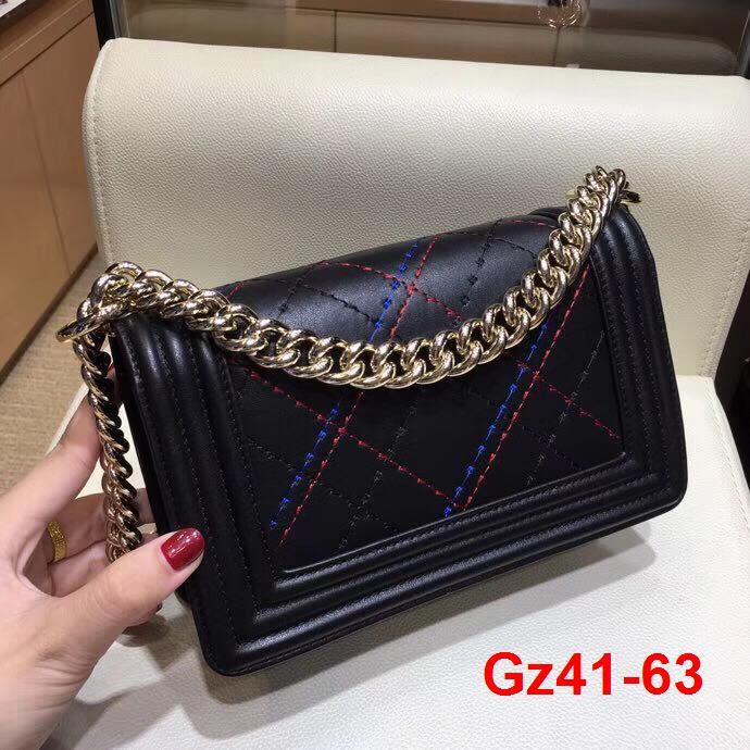 Gz41-63 Chanel túi size 20cm siêu cấp