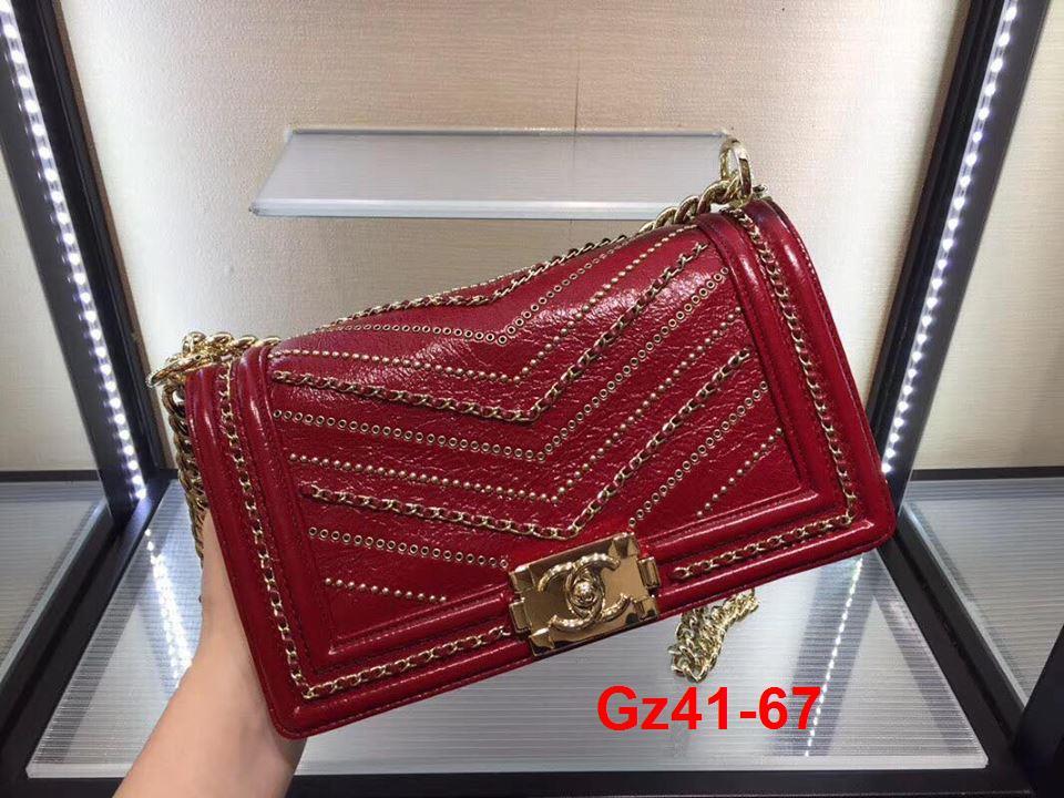 Gz41-67 Chanel túi size 25cm siêu cấp