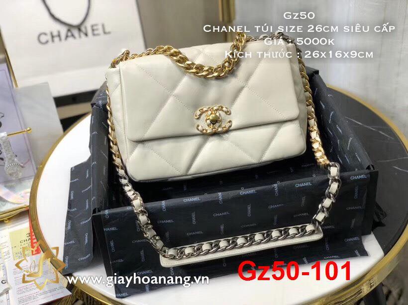 Gz50-101 Chanel túi size 26cm siêu cấp