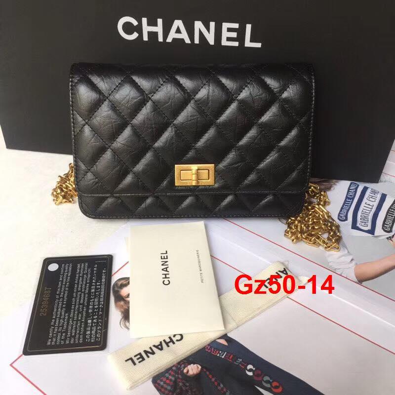 Gz50-14 Chanel túi size 19cm siêu cấp