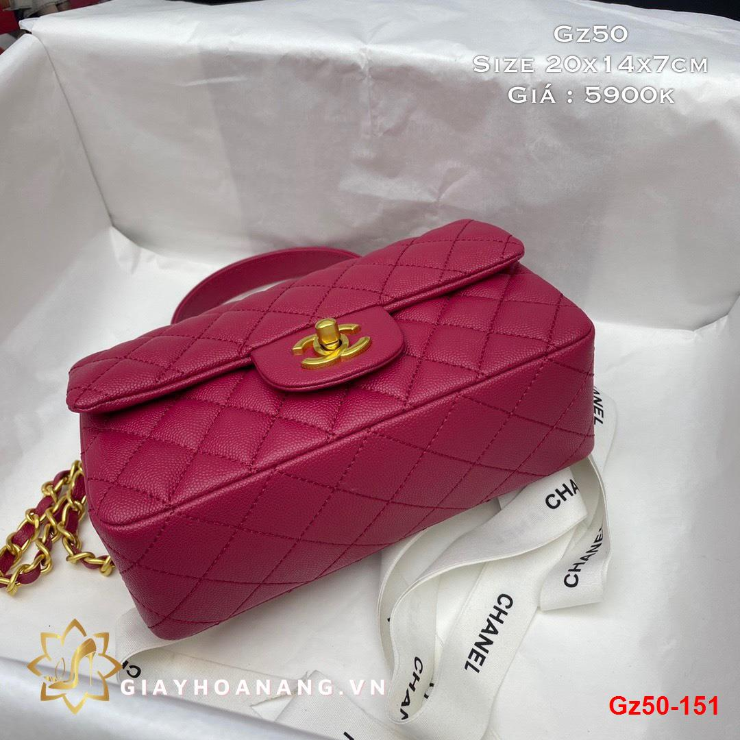 Gz50-151 Chanel túi size 20cm siêu cấp