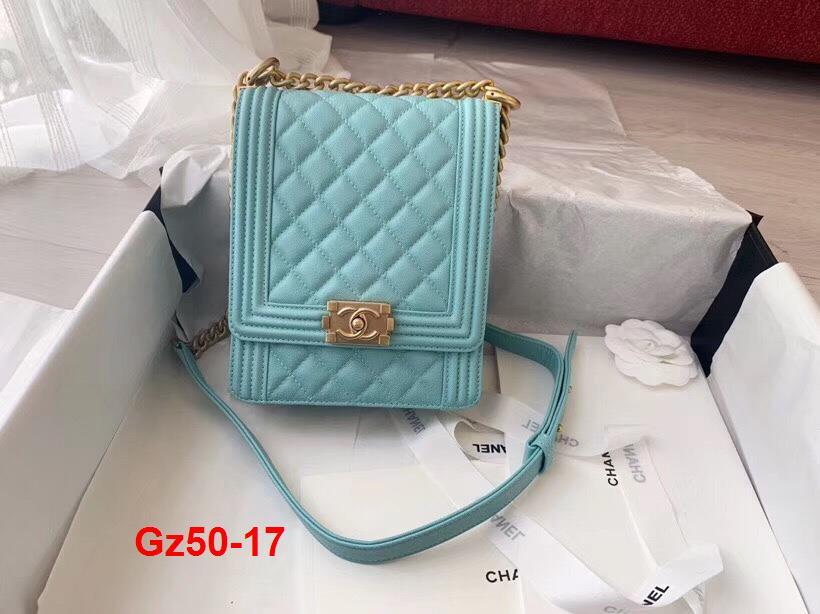 Gz50-17 Chanel túi size 19cm siêu cấp