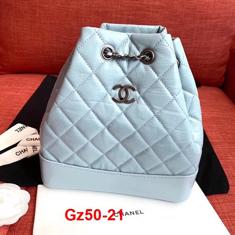 Gz50-21 Chanel túi balo size 24cm siêu cấp