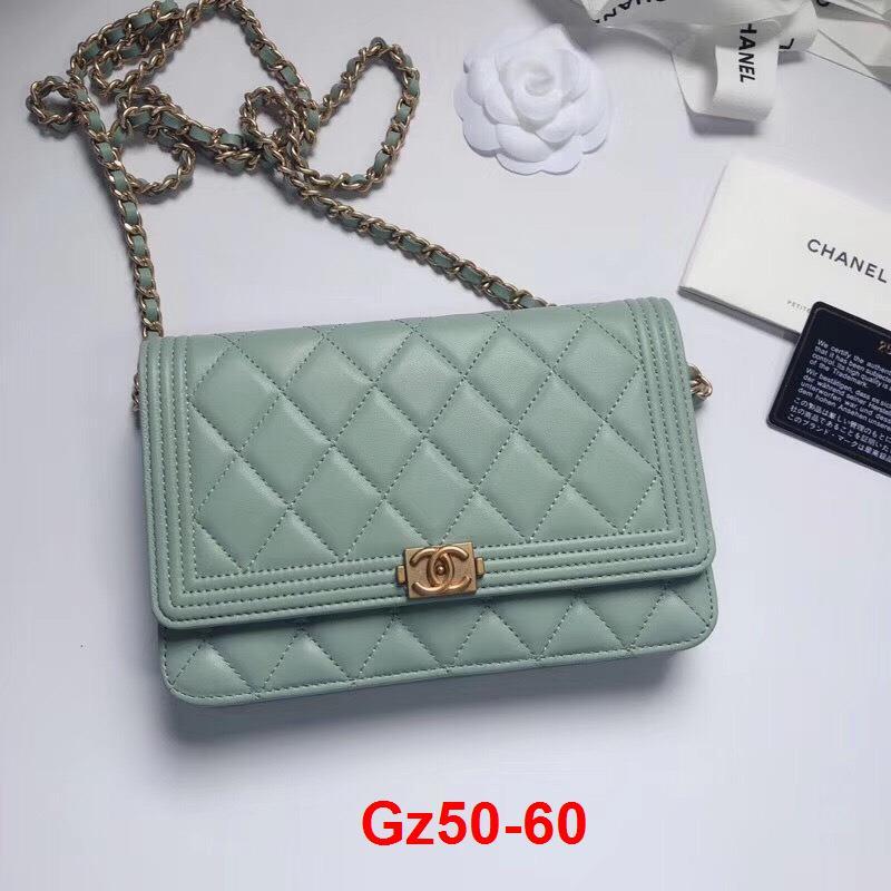 Gz50-60 Chanel túi size 19cm siêu cấp