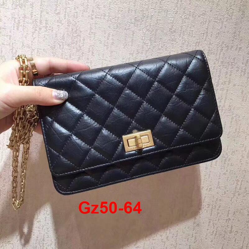 Gz50-64 Chanel túi size 19cm siêu cấp