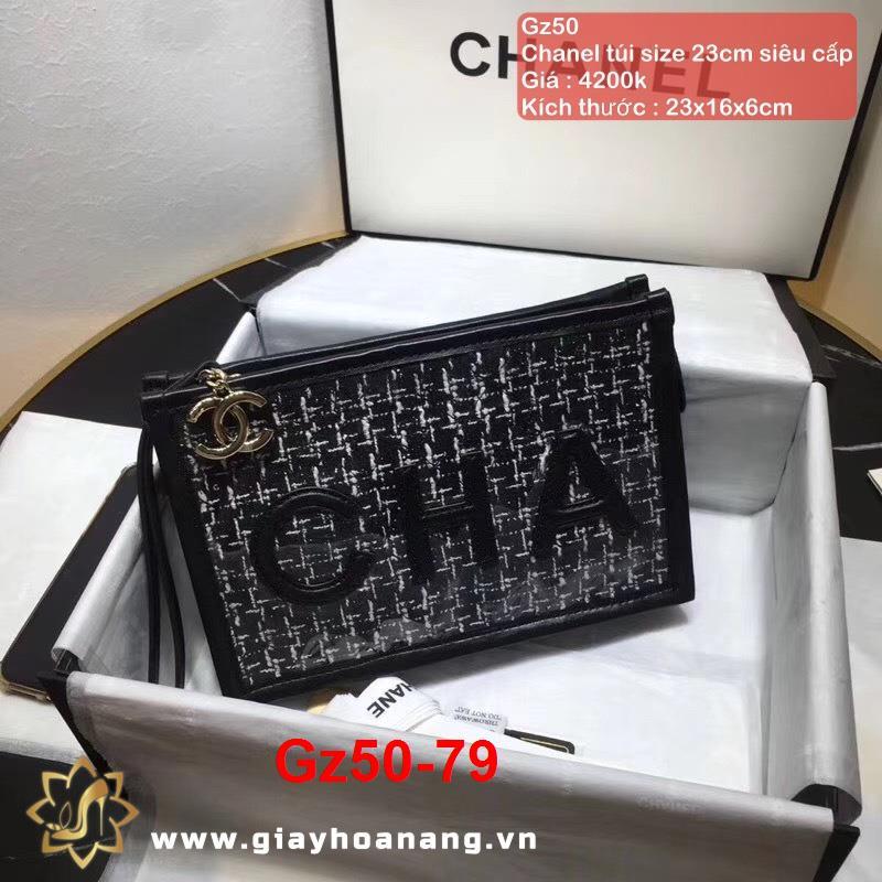 Gz50-79 Chanel túi size 23cm siêu cấp