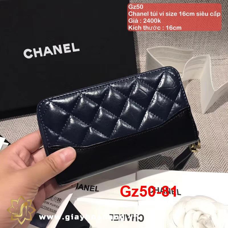 Gz50-81 Chanel túi ví size 16cm siêu cấp