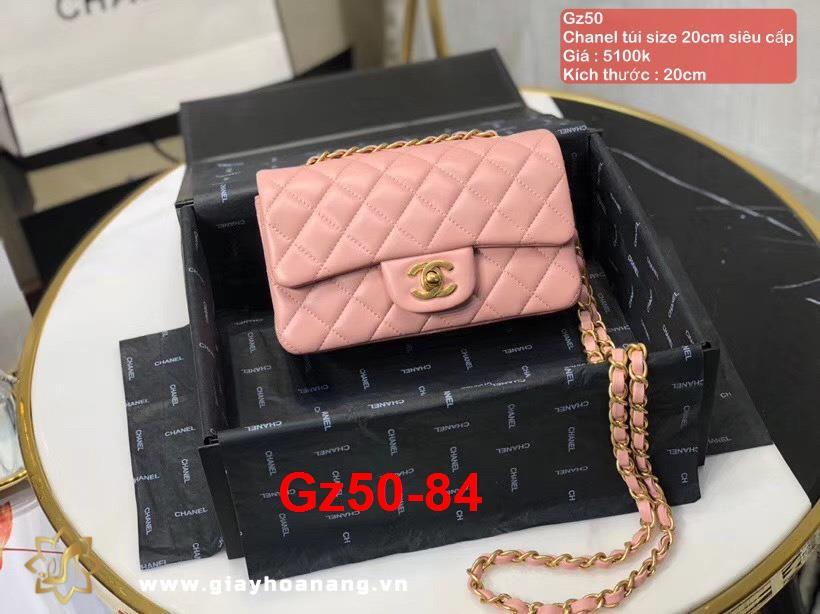Gz50-84 Chanel túi size 20cm siêu cấp