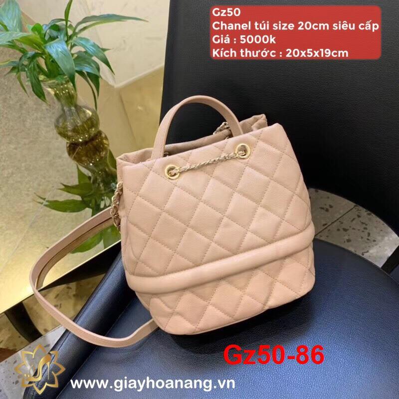 Gz50-86 Chanel túi size 20cm siêu cấp