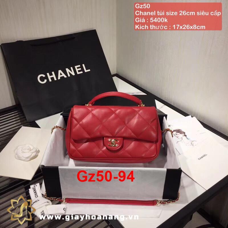 Gz50-94 Chanel túi size 26cm siêu cấp