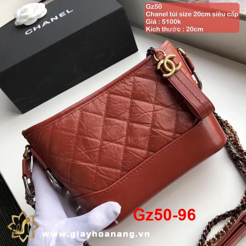 Gz50-96 Chanel túi size 20cm siêu cấp