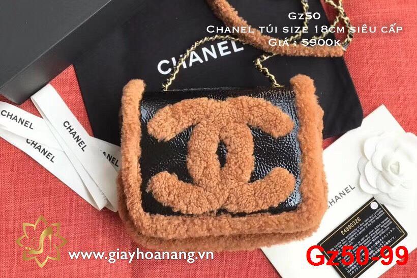 Gz50-99 Chanel túi size 18cm siêu cấp
