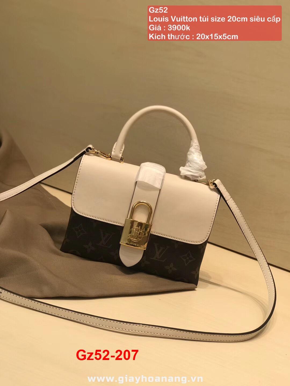 Gz52-207 Louis Vuitton túi size 20cm siêu cấp