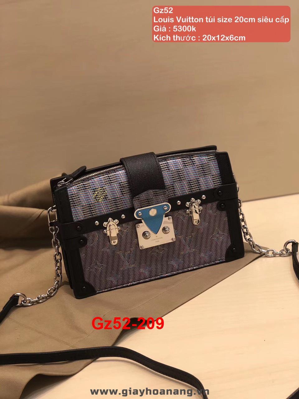 Gz52-209 Louis Vuitton túi size 20cm siêu cấp