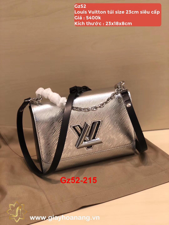 Gz52-215 Louis Vuitton túi size 23cm siêu cấp