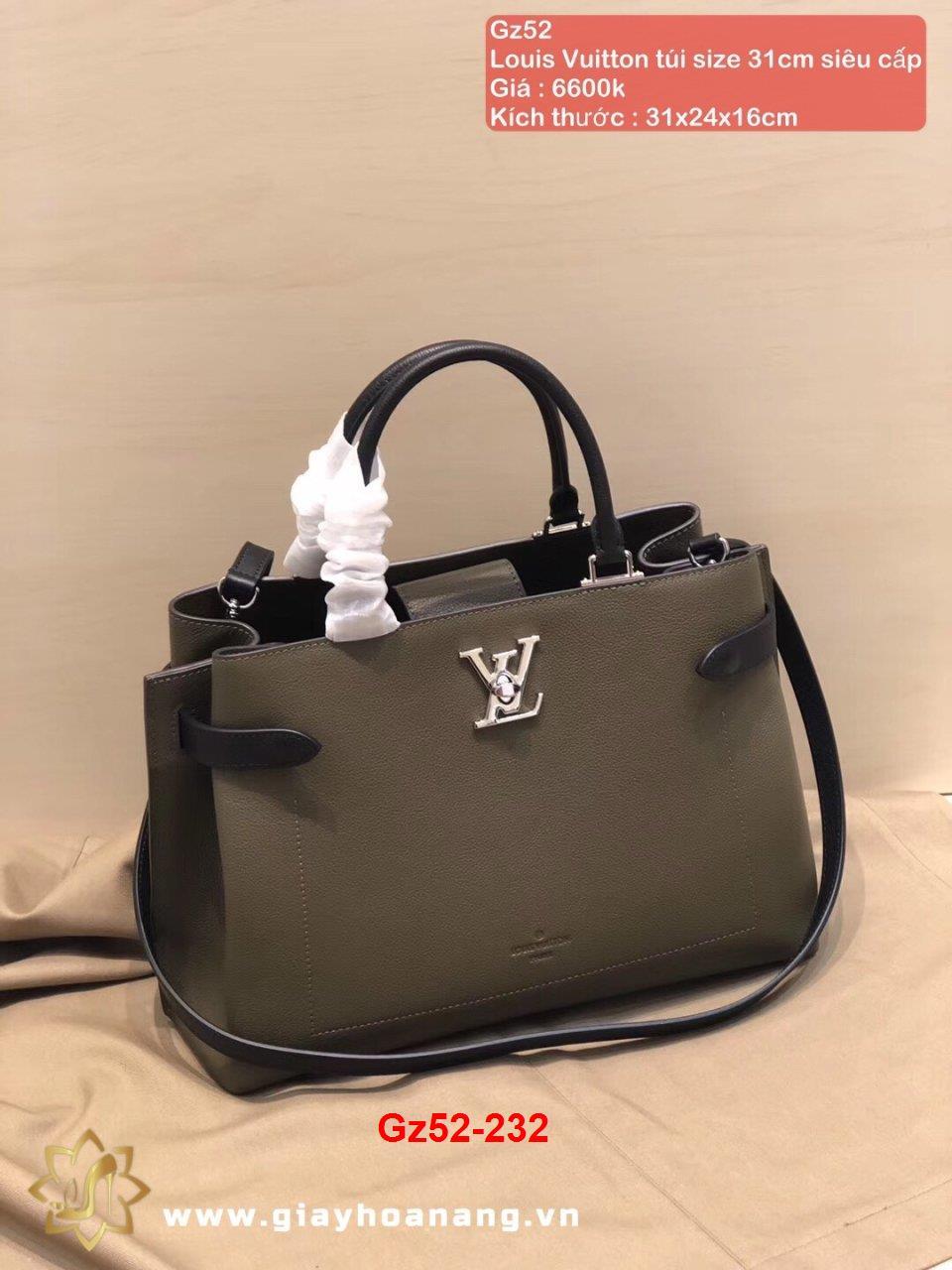 Gz52-232 Louis Vuitton túi size 31cm siêu cấp