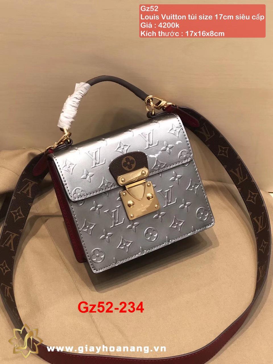 Gz52-234 Louis Vuitton túi size 17cm siêu cấp