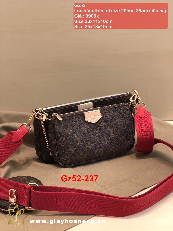 Gz52-237 Louis Vuitton túi size 20cm, 25cm siêu cấp