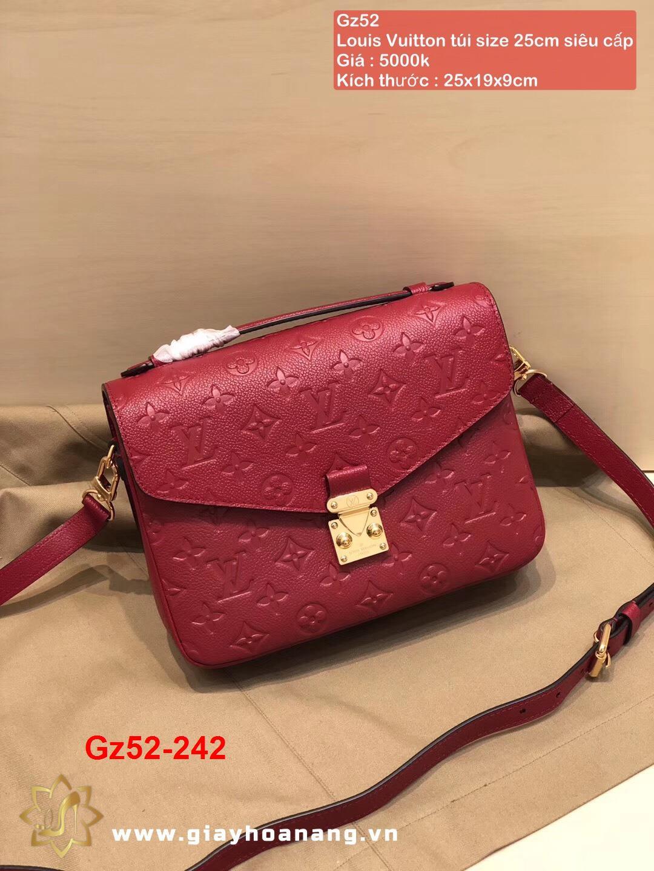 Gz52-242 Louis Vuitton túi size 25cm siêu cấp