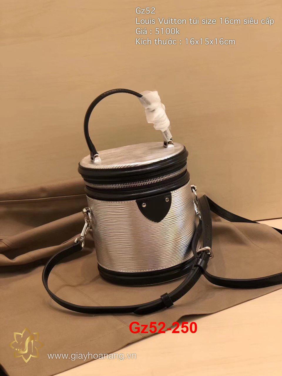 Gz52-250 Louis Vuitton túi size 16cm siêu cấp