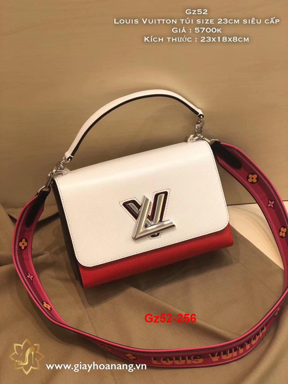Gz52-256 Louis Vuitton túi size 23cm siêu cấp