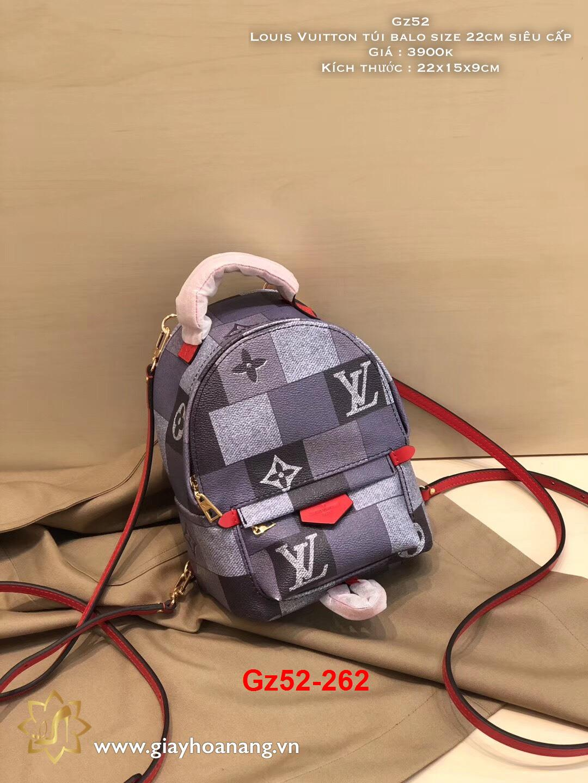 Gz52-262 Louis Vuitton túi balo size 22cm siêu cấp