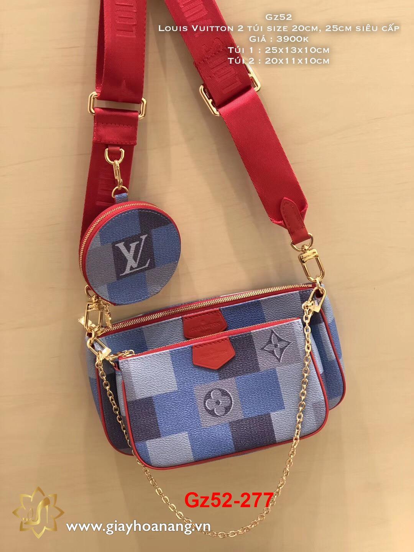 Gz52-277 Louis Vuitton túi size 20cm, 25cm siêu cấp