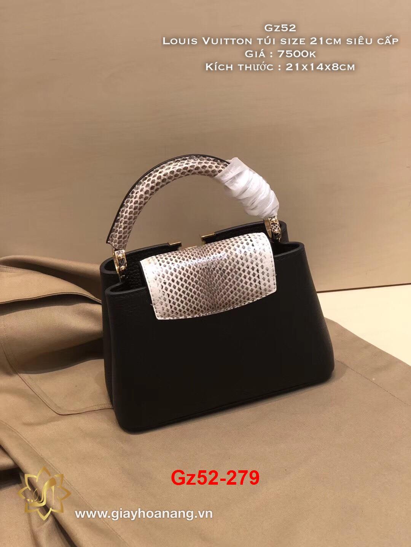 Gz52-279 Louis Vuitton túi size 21cm siêu cấp