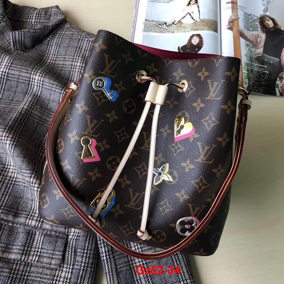 Gz52-34 Louis Vuitton túi size 26cm siêu cấp