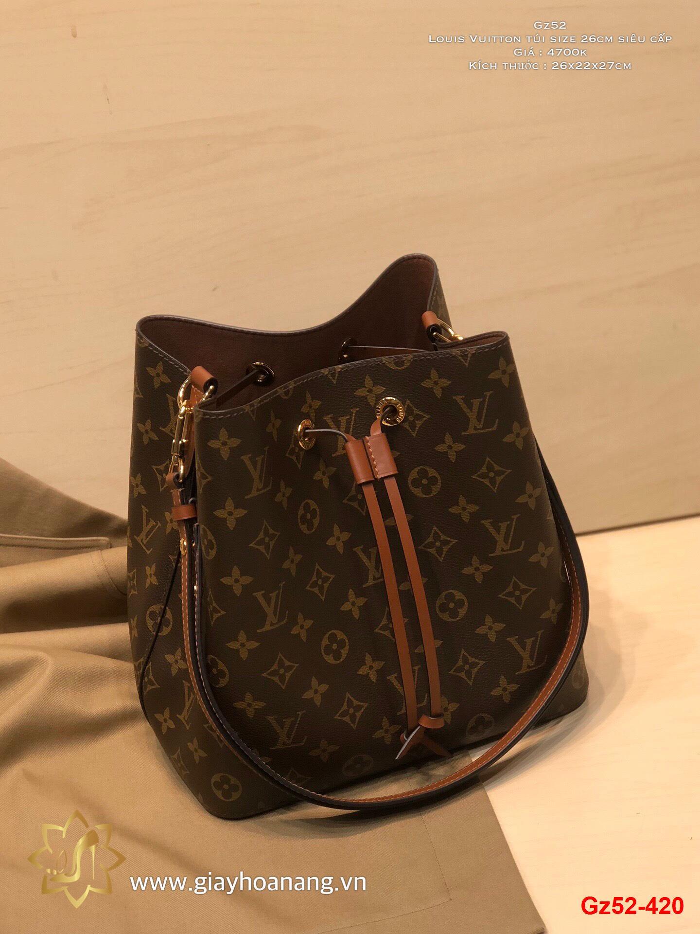 Gz52-420 Louis Vuitton túi size 26cm siêu cấp