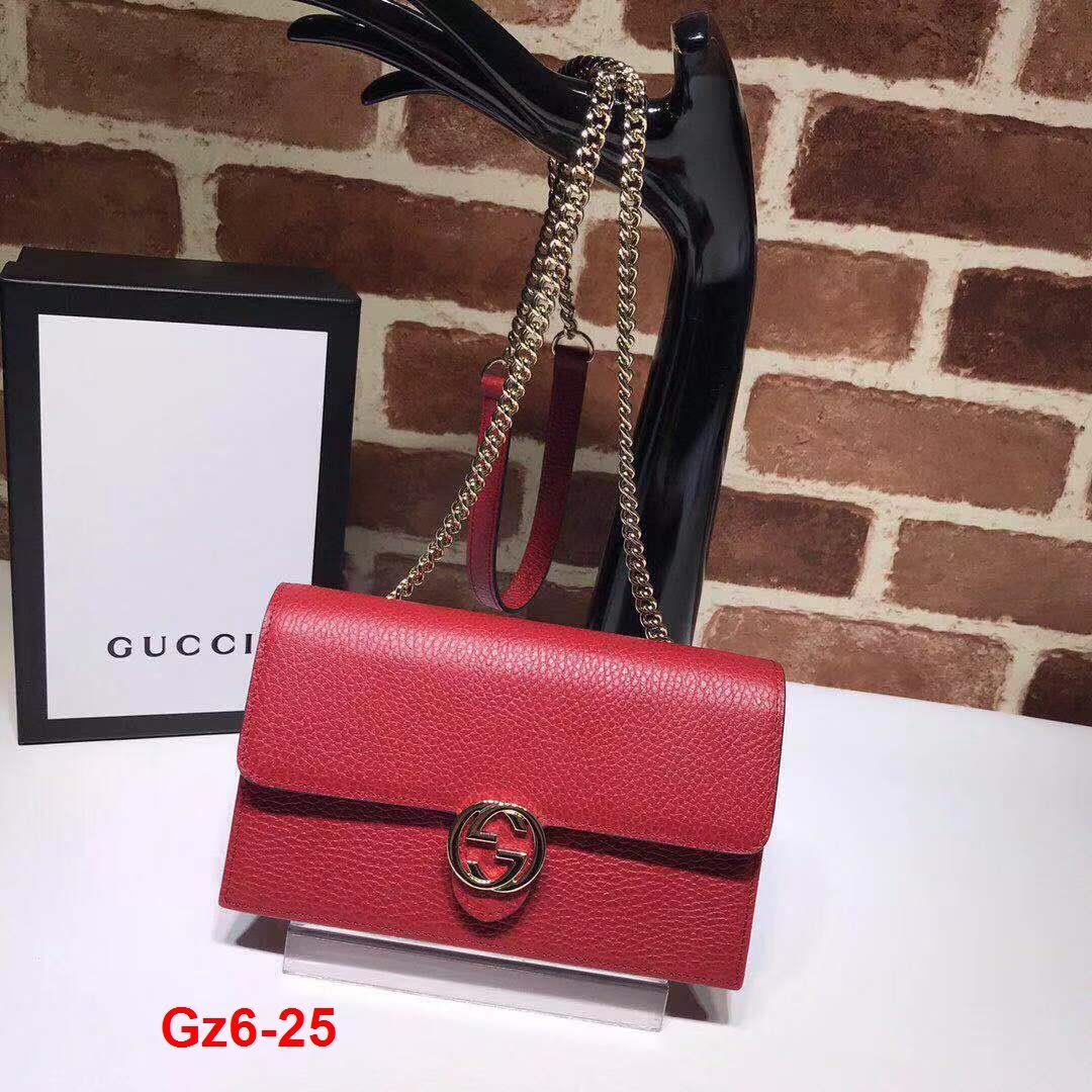 Gz6-25 Gucci túi size 20cm siêu cấp
