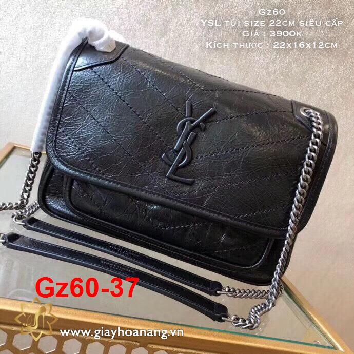 Gz60-37 Yves Saint Laurenr YSL túi size 22cm siêu cấp