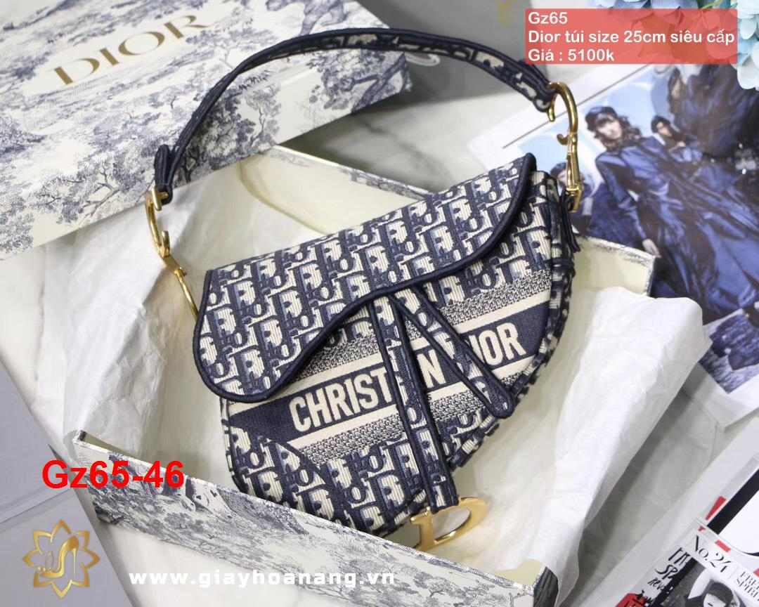 Gz65-46 Dior túi size 25cm siêu cấp