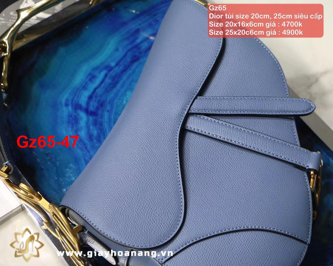 Gz65-47 Dior túi size 20cm, 25cm siêu cấp