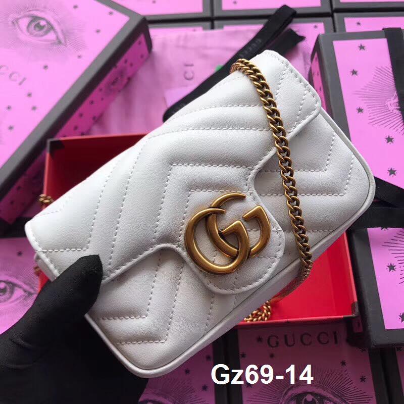 Gz69-14 Gucci túi size 17cm siêu cấp
