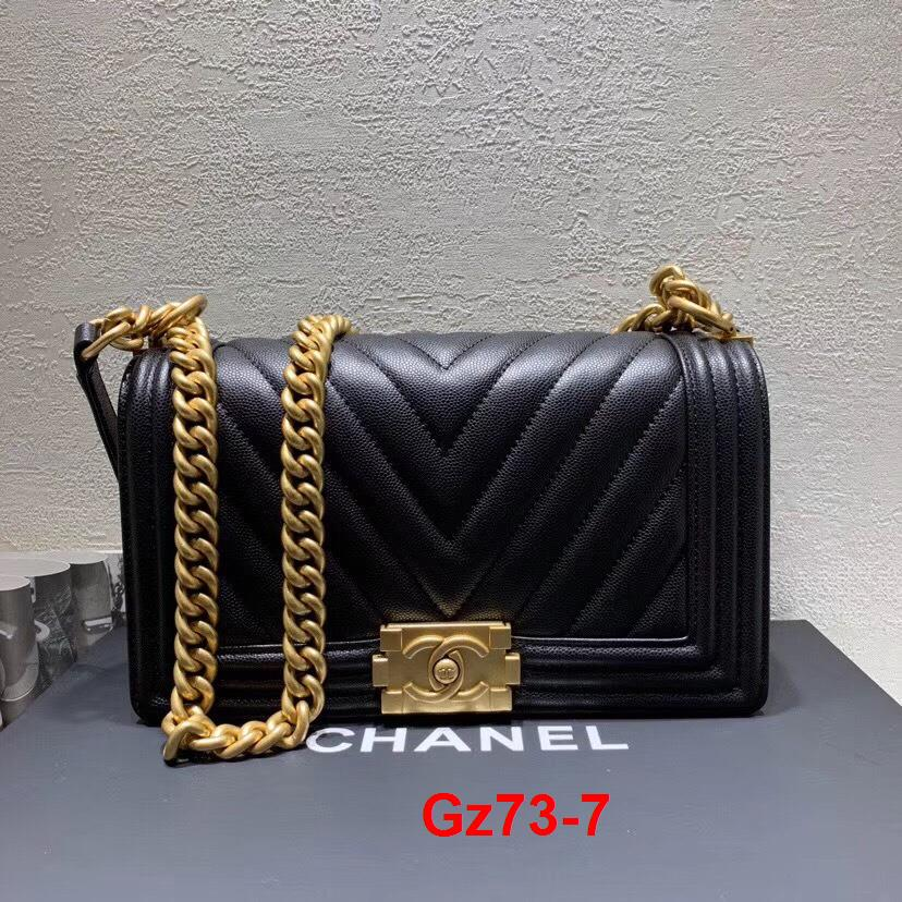 Gz73-7 Chanel túi size 25cm siêu cấp
