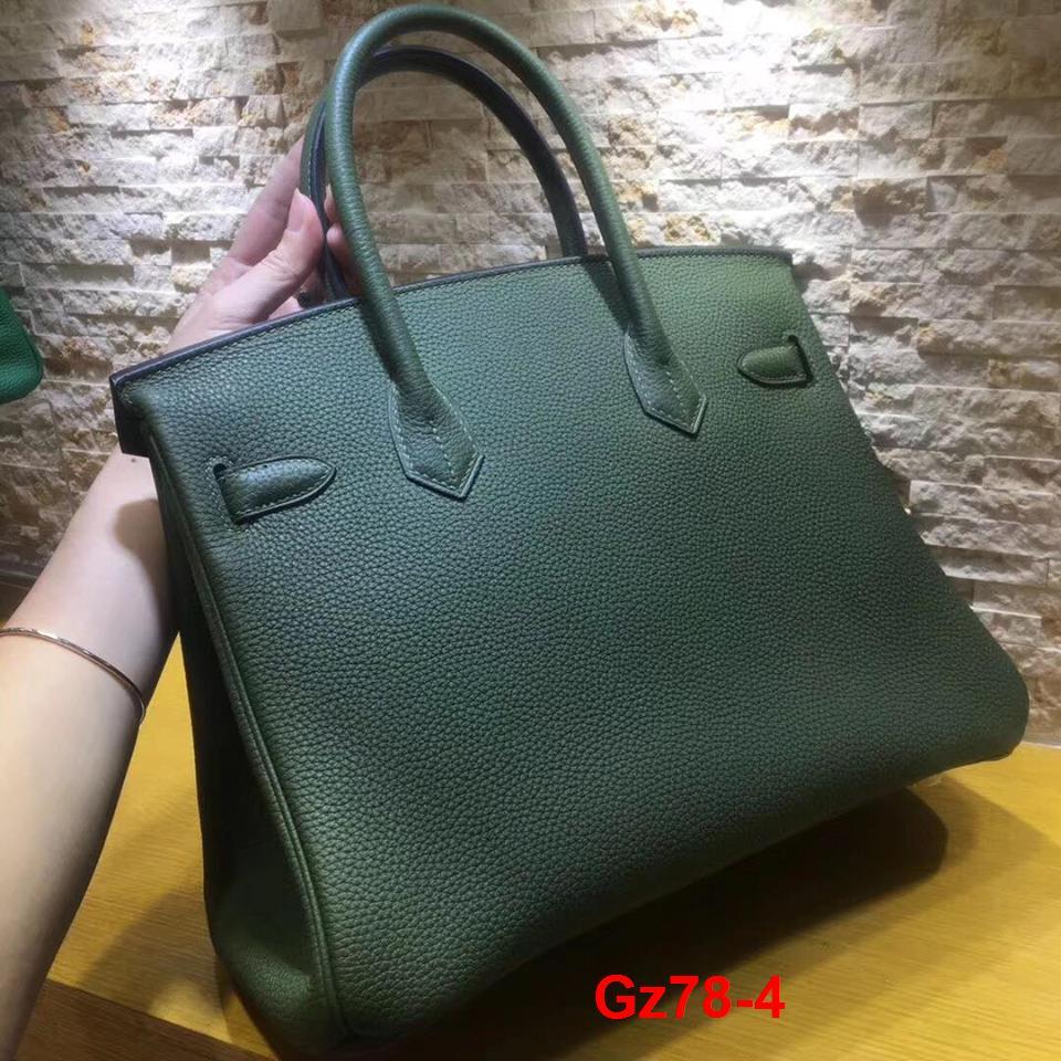 Gz78-4 Hermes Birkin túi size 30cm khâu tay siêu cấp