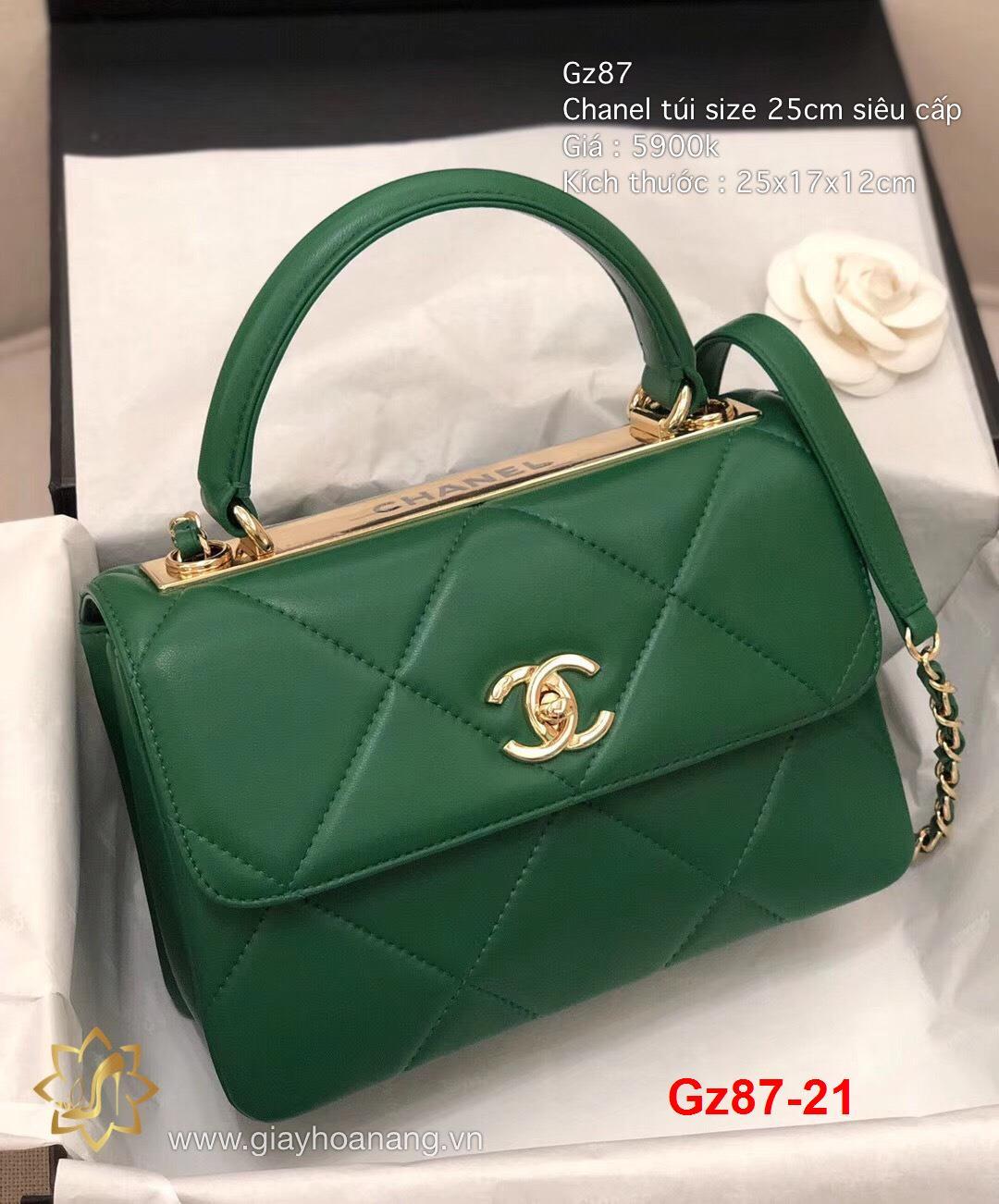 Gz87-21 Chanel túi size 25cm siêu cấp