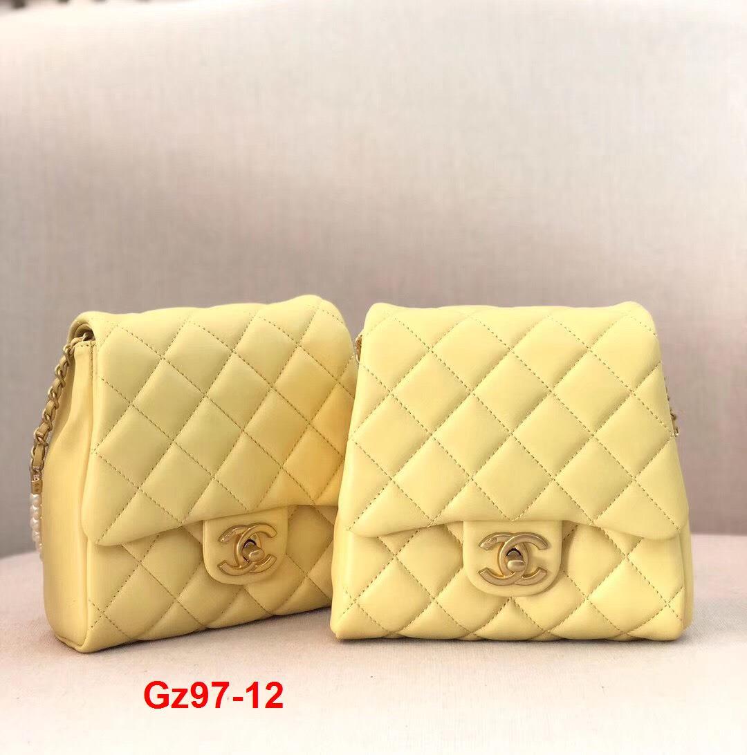 Gz97-12 Chanel túi size 19cm x 2 chiếc siêu cấp