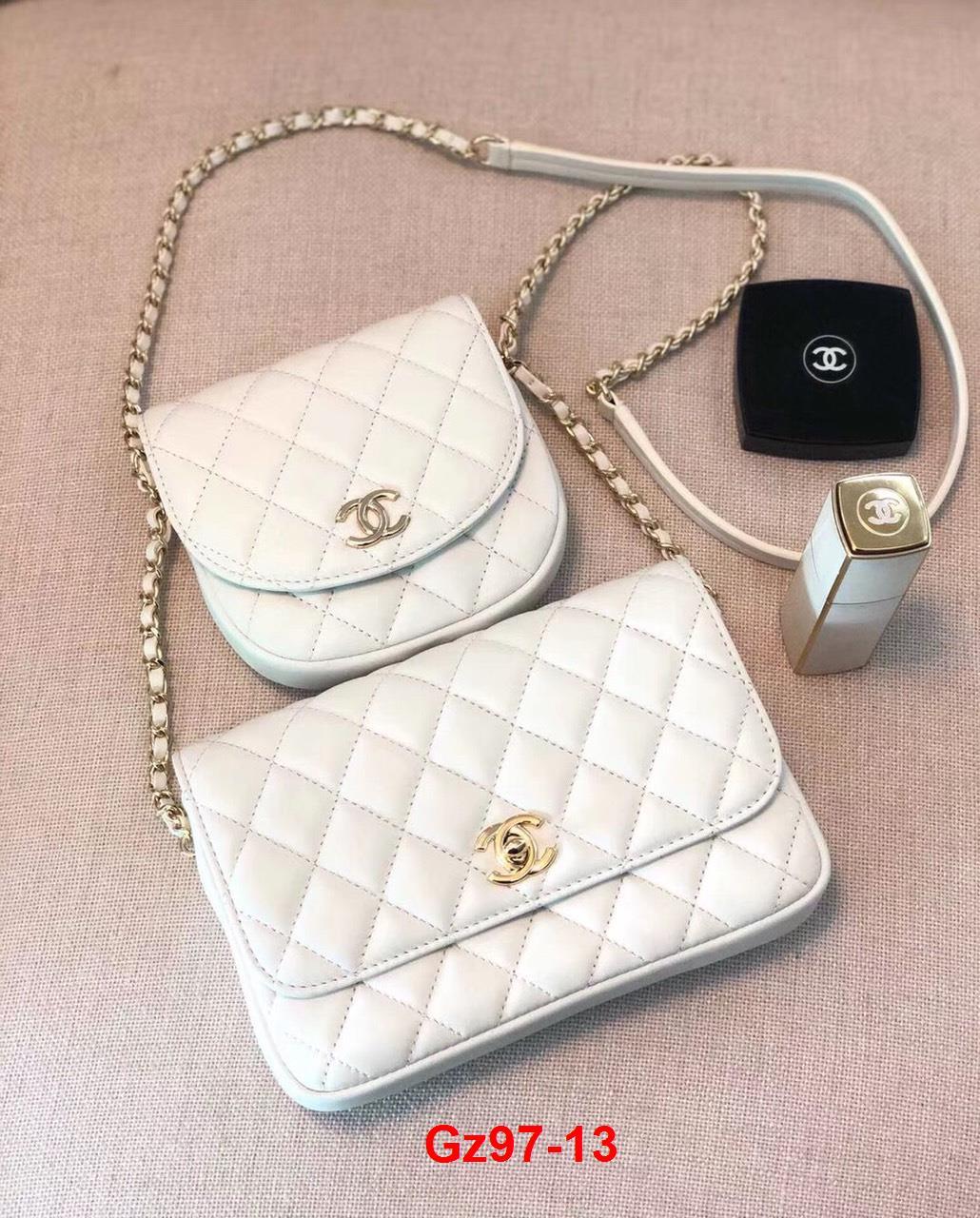 Gz97-13 Chanel túi size 19cm x 2 chiếc siêu cấp