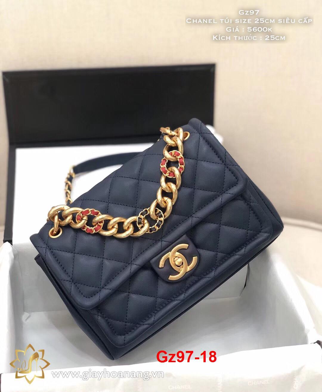 Gz97-18 Chanel túi size 25cm siêu cấp