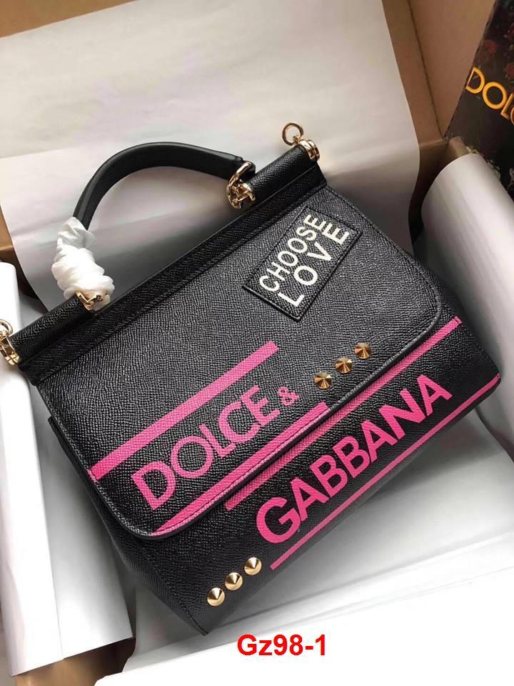 Gz98-1 Dolce Gabbana túi size 25cm siêu cấp